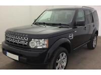 Land Rover Discovery 4 FROM £99 PER WEEK!