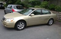 Nissan ALTIMA Sedan - Available Immediately