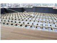 Wallbarn adjustable decking support