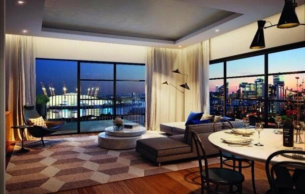 LUXURY BRAND NEW 2 BATH 2 BED CITY ISLAND E14 CANARY WHARF CANNING TOWN EAST INDIA
