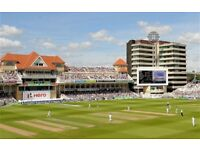 England v India Trent Bridge Day 2 Test tickets 19 August 2018. £60 each face value