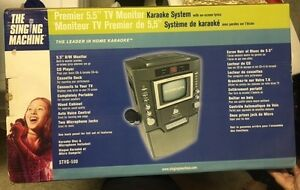 NEW The Singing Machine Karaoke system