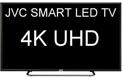 "JVC 49"" (124CM) SMART UHD LED TV RESOLUTION 3840 x 2160  (4K) MODEL LT-49N675A"