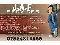 J.A.F Services - Handyman/Landscape gardener