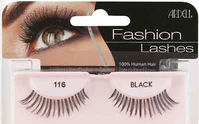 (LOT OF 72) Ardell Natural Lashes #116 False Fake Eyelashes Fashion Black