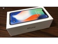 iPhone X 256GB Silver : Brand New : In Sealed Box