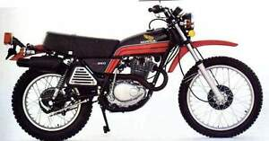 WANTED HONDA XL350