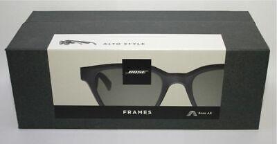 Bose Frames Alto Style, Schwarz, Bluetooth Sonnenbrille, Kopfhörer **NEU-OVP**