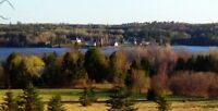 Mactaquac Headpond view + waterfront access / secluded 6 acres!