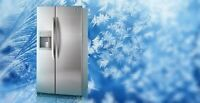 Refrigerator repairs RECEIVE $40 OFF TODAY