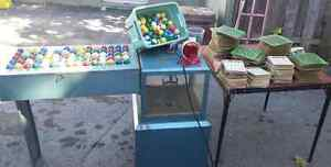 Vintage Capital BINGO Machine with ALL the Accessories SCARCE