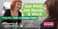 Lanark County - Youth Job Connection – $11.40/hour
