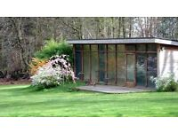 Beautiful Secluded Studio for Yoga / Exercise Classes / Work & Day Time use in Forest of Dean