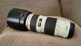 Canon 70-200 L f4 USM