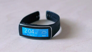 SAMSUNG GEAR FIT WATCH FOR SALE 125$ PERFECT CONDITION