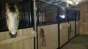 Horse shelter ,sheds and garage ,barns and metal roofing
