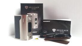 Brand new Wismec RX300 400W e-cig mod RRP £69.99 e-cigarette no e-liquid no nicotine