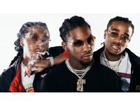 MIGOS LIVE AT THE BRIXTON ACADEMY!! STALLS STANDING TICKETS £70