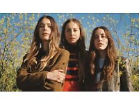 4 x Haim tickets. 16th June, Alexandra Palace London. £40each-selling for face value (plus paid fee)