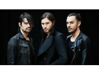 Two tickets to see 30 seconds to mars