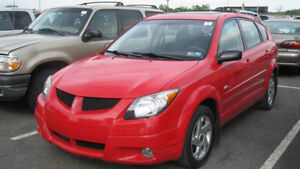 2003 Toyota Matrix Familiale full