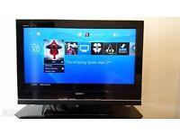 "SONY BRAVIA 32"" TV WITH REMOTE CONTROL"