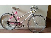Vintage Raleigh 5 Speed Road Bike In Perfect Order