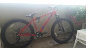 Moving Sale - CCM mountain bike, Black Dresser, Black armchair