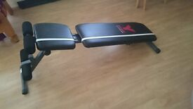 York fitness 2 in 1 barbel and ab bench