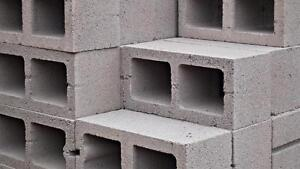 Cinder Blocks to Block Small Shed