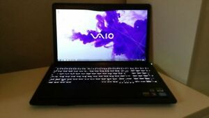 "Sony Vaio 16.9"" with Adobe CS6 and Microsoft Office lifetime"