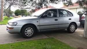 1999 TOYOTA Corolla Hatchback - Reliable Little Car! Maidstone Maribyrnong Area Preview