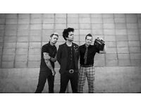 Green Day standing tickets for Sheffield Arena Monday 3rd July 2017
