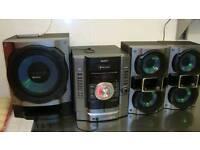 Stereo/cd player Sony