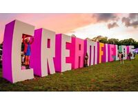 2x Creamfields 2016 tickets for sale (2 day camping)