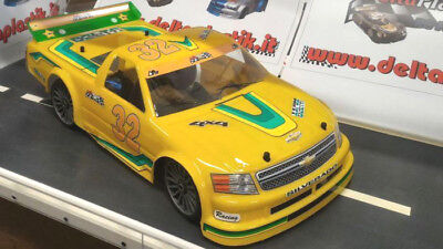 Chevy Thunder Truck 1.5mm RC Car Body clear Oval NASCAR GT Traxxas Slash NT002 for sale  Shipping to Canada