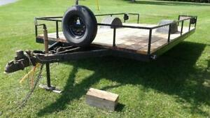 Well Made Utility Trailer