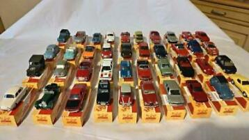 Solido - 1:43 - Lot de 40 miniatures