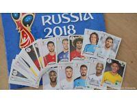 Panini World's cup 2018 stickers - SWAP