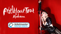 LESS THAN COST! Madonna Tickets for Oct 14 Vancouver