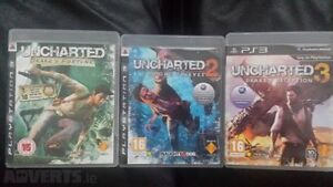 Uncharted 1,2 and 3   PS3