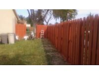 Fence/Shed/Decking Painter/Moss Removal-online Quote -Good Rates -Friendly Service