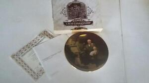 Norman Rockwell complete 'Light Campaign' collector plates!