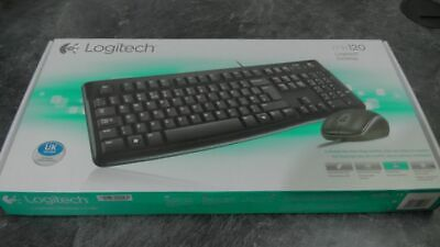 Logitech MK120 Wired USB Keyboard & Mouse