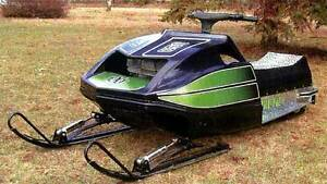 Arctic Cat EXT 1973, belly pan and hood molds
