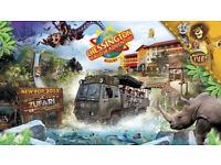 Chessington World of Adventures Adult Tickets x2