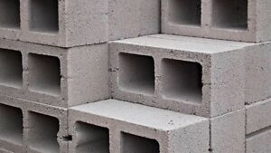 "LOOKING FOR 8"" CINDER / CEMENT BLOCKS"