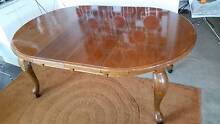 Excellent dining table (possibly oak) with two extensions Bondi Beach Eastern Suburbs Preview