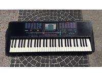 Yamaha PSR-220 Portatone Electronic 61 key keyboard Touch Sensitive MIDI