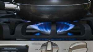Gasline installation available for stoves